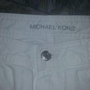 EUC white Michael Kors skinny jeans size 8